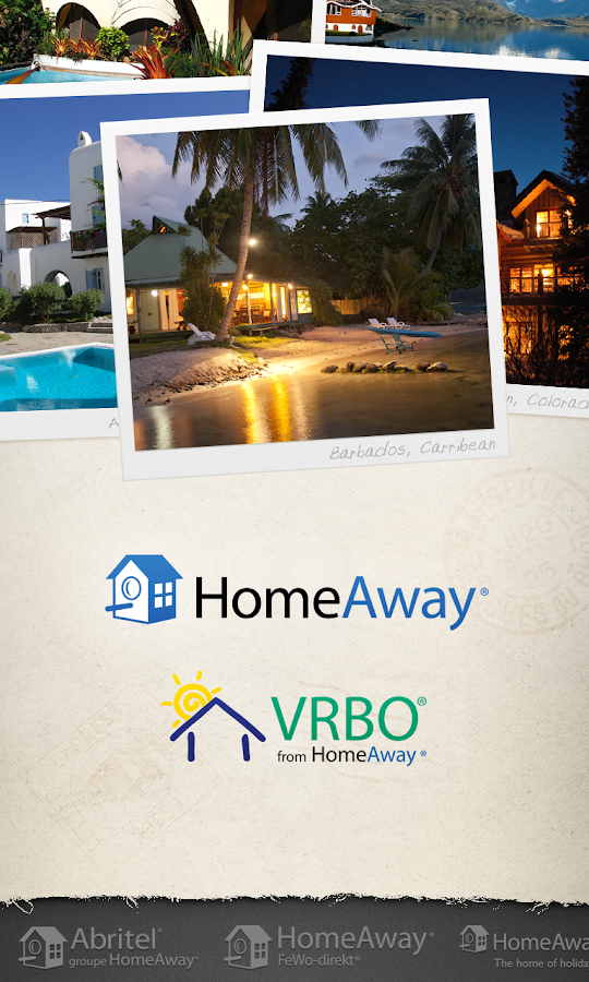 HomeAway VRBO Vacation Rentals - screenshot