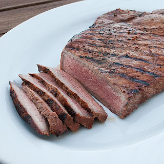 Garlic and Herb Grilled London Broil.