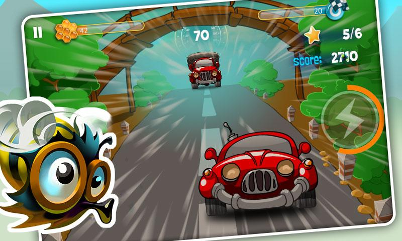 Bumblebee Race Free - screenshot