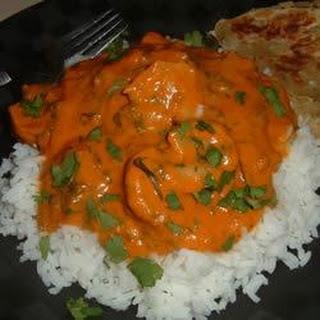Indian Stir-Fried Shrimp in Cream Sauce (Bhagari Jhinga).