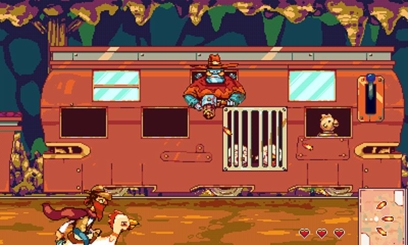 The Chicken Bandit - screenshot