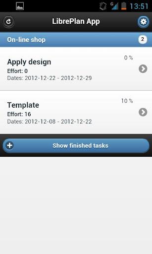 LibrePlan App