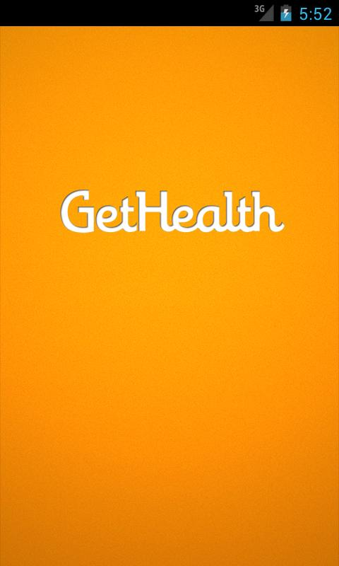 GetHealth - Get health today! - screenshot