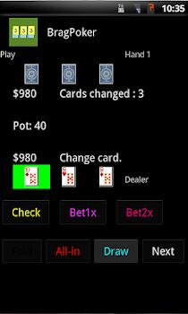 Brag Poker