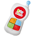 Baby phone toy for toddlers icon