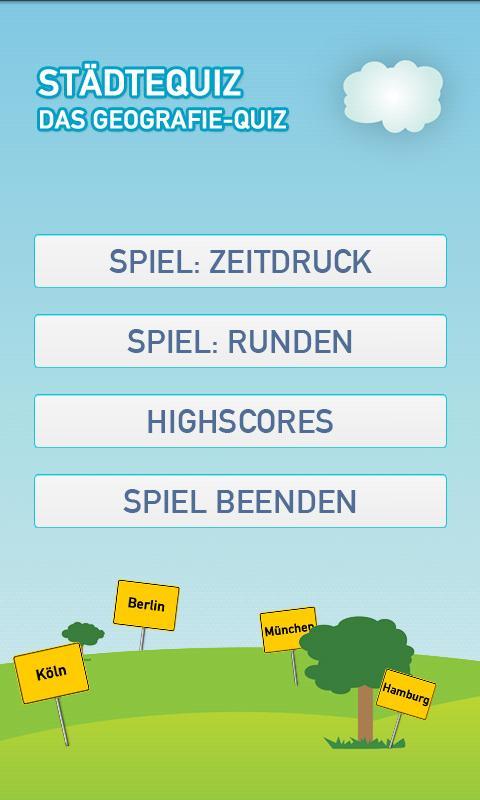 Städtequiz: Das Geografie-Quiz- screenshot