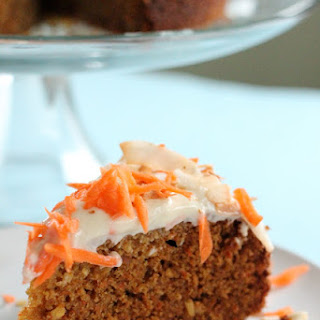Carrot and Coconut Cake with Honey Cream Cheese Frosting