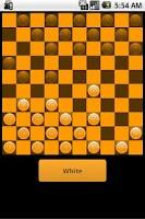 Screenshot of Checkers - Dammen