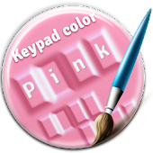 Keypad Color Pink Stretch