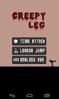 Screenshot of Creepy Leg ~Escape A Dark Room