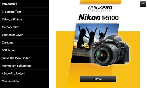 Guide to Nikon D5100- screenshot thumbnail