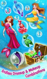 Mermaid Princess Makeover Game - screenshot thumbnail