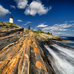 Pemaquid Lighthouse revisited by Michael Otter - Landscapes Travel (  )