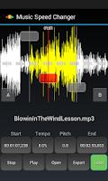 Screenshot of Music Speed Changer Lite