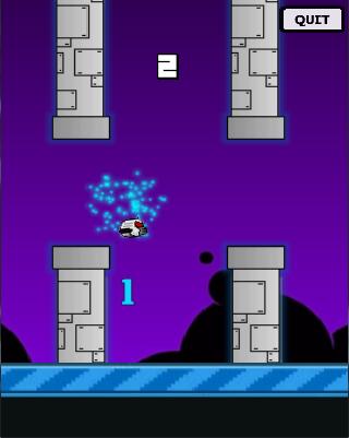 【免費街機App】space birdie-APP點子