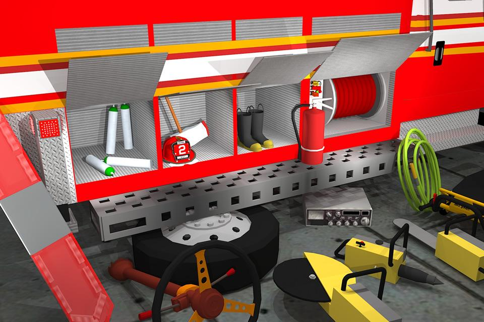 Fix My Truck: Fire Engine LITE- screenshot