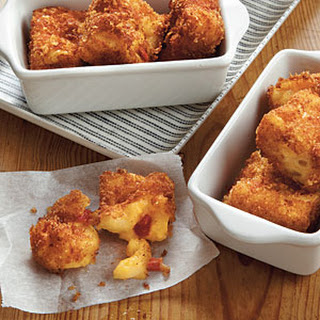 Macaroni-and-Pimiento Cheese Bites