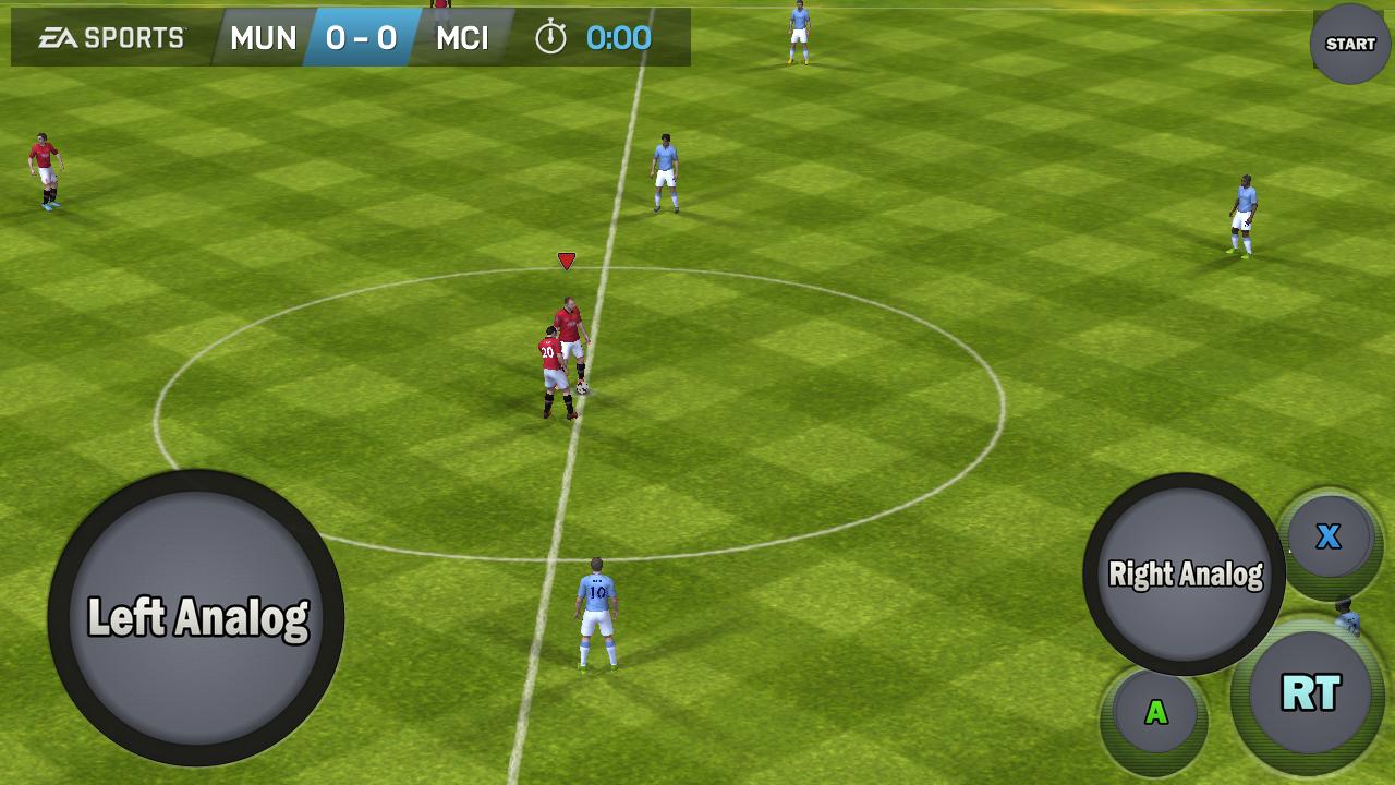 Game Controller 2 Touch - screenshot