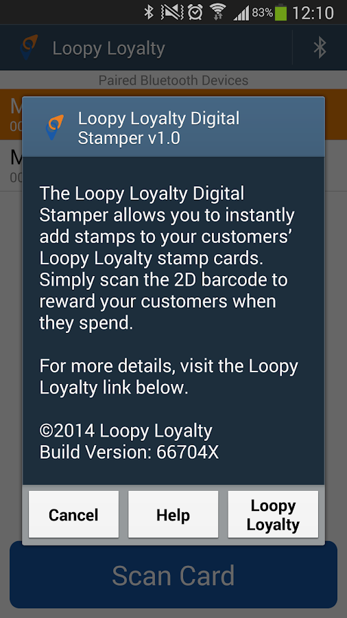 Loopy Loyalty Digital Stamper- screenshot