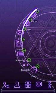 Next Launcher Theme 3D Magic Screenshot 2