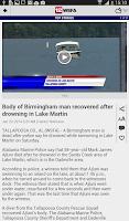 Screenshot of WSFA 12 News