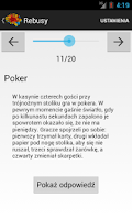 Screenshot of Zagadki logiczne PL