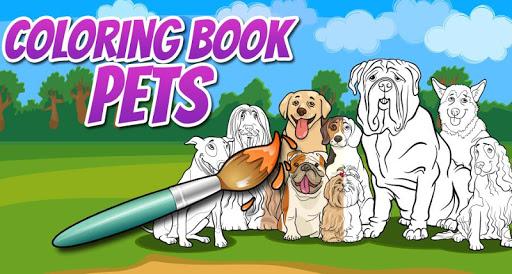 Coloring Book Pets