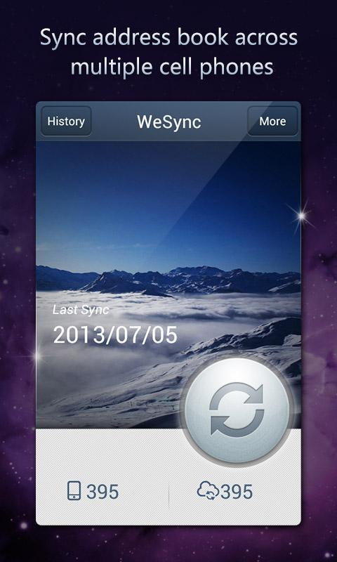 WeSync - screenshot
