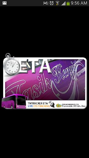 TNTracker ETA Bas Tasik Kenyir