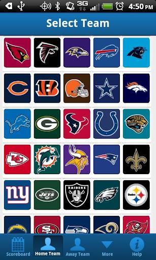 NFL Football Roster Lite