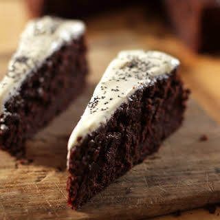 Moist Chocolate-Beet Cake.