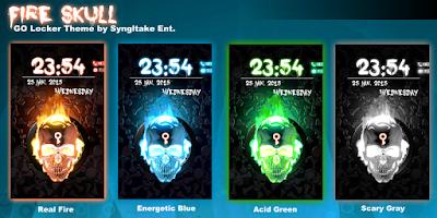 Screenshot of GO Locker eNUnit Theme