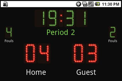 Scoreboard +++- screenshot