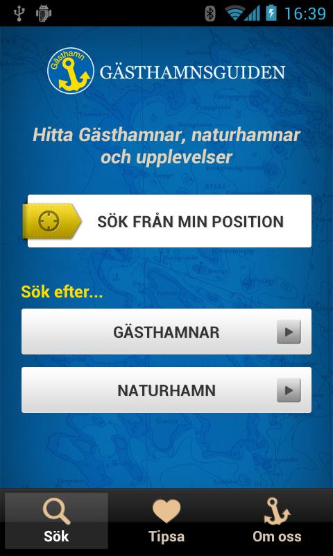 Gästhamnsguiden - screenshot