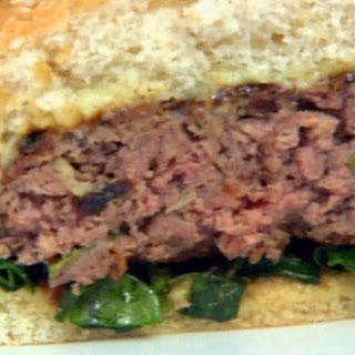 Mirin Glazed Burgers with Sesame-Ponzu Spinach and Wasabi-Ginger Mayonnaise Recipe