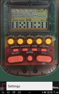 Electronic Yahtzee - screenshot thumbnail