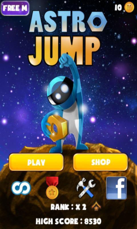 Astro Jump- screenshot