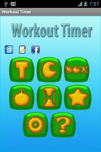 Workout Timer + Fat Calculator