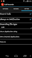 Screenshot of Automatic Call Recorder