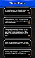 Screenshot of Weird Facts