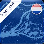 Vaarkaart Biesbosch 2014
