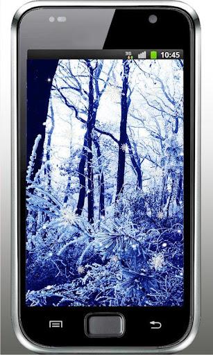 Winter landscape livewallpaper