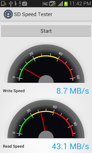 玩免費生產應用APP|下載SD Speed Tester app不用錢|硬是要APP