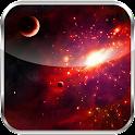 Blackberry Galaxay HD LWP icon