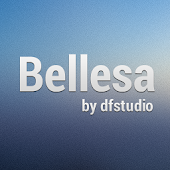 Bellesa GO Launcher EX theme