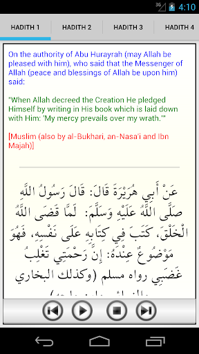 40 Hadiths Qudsi