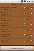 Screenshot of BeerDiary