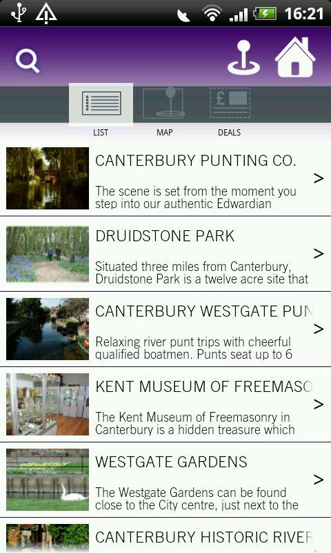 Visit Canterbury - screenshot
