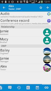 DW Contacts & Phone & Dialer - screenshot thumbnail