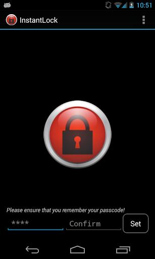 InstantLock: Set remove lock
